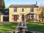 HOLMFIELD CROFT, detached, luxury, unique murals throughout in Oxenhope, Ref 24759
