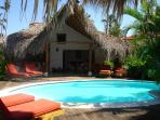 Romantic villa 65 meters from the beach.