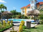Poolside condo steps away from beach - Cabarete