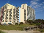 Spacious and Cozy Oceanfront Condo in Myrtle Beach