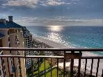Magnificent gulf views from the private balcony of this 21st floor condo!