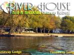 Two lodges. Two lodging styles. Family or Luxury.