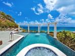 Nid d'Amour - Beautiful villa near beach with heated pool & spectacular views