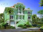 Sea Princess Castle, 10 bedroom beach front, pool, spa, elevator