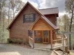 CRIMSON BEAR MOUNTAIN*SECLUDED 3 BEDROOM/3 BATHROOM~PET FRIENDLY~POOL TABLE~HOT TUB~GAS GRILL~FIRE PIT~SATELLITE~WIFI~$125/NIGHT