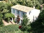 Villa La Ruine Grimaud, near St. Tropez, sleeps 6 + baby, private saltwater pool