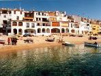 Apartment in Calella de Palafrugell with great sea view