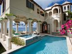 Villa Nonna at Upper Peter Bay, St. John - Ocean View, Pool, Secluded Within Tropical Gardens