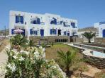 Tinos Island Charming Hibiscus Studio for 2 or 3 persons
