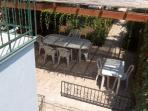 Holiday home with private garden, AC, near beach