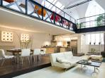 INCREDIBLE 4 BEDROOM LOFT central Paris HUGE space
