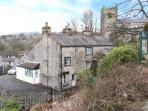 BELL HORSE COTTAGE, semi-detached cottage, over three floors, woodburning stove, parking, in Ingleton, Ref 20272