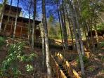 Above the River~New Listing~2 bedroom~2 bath~Sleeps 6~Toccoa River Access~Hot Tub~Ping Pong~Fooseball~Only $135/night!