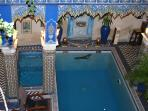 Riad Puchka, with swimming pool and spa.