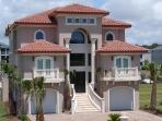 New Luxurious Executive Mediterranean Gated Island Home W/ Dock/Pool!