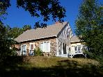 Sleeps 10, Near Town via backroads then to the bay