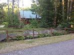 Newer Log Cabin, Three Wooded Acres in the Country