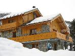 Chalet Lagopede, catered, Meribel, sleeps 8 - 10
