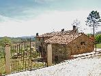 Quaint, cozy hayloft in Chianti Tuscany