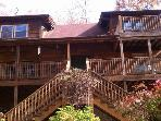80 acre,360 Mountains Very Secluded Cabin 16-20ppl