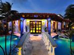 Villa Del Mar - Mediterranean-style villa with pool, across from beach & ideal for entertaining
