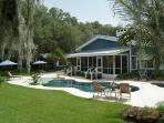 1 1/2 Acre Luxury Waterfront Home w/ Guest House