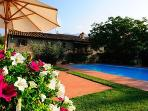 VILLA Ca de Santi with Swimming Pool, near CORTONA
