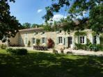 5 bedroom French farmhouse with heated pool