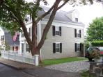 Historic colonial Marblehead home, north of Boston