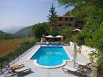 Beautiful Farmhouse Apartment Nr Perugia with Pool