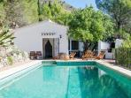 Andalusian Country House, pool, sea view