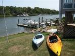 Waterfront with Private Beach, Boat Dock and AC.