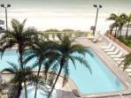 3Bed, 3Bath Direct Gulf Front Condo w Huge Balcony in North Redington Beach, FL (South of Clearwater Beach)