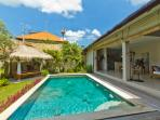 Tropical 3 bedrooms in Canggu