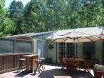 Russian River Oasis Privacy in the Redwoods with Decks and Relaxation