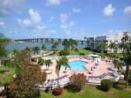 Bahia Vista 12-442 Beautiful Condo with Don CeSar and Bay Views!