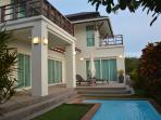 Villa for rent with pool, sea view, Koh Lanta