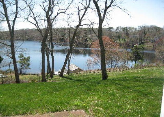 Lake View from Patio - 7 POND ROAD, - Orleans - rentals