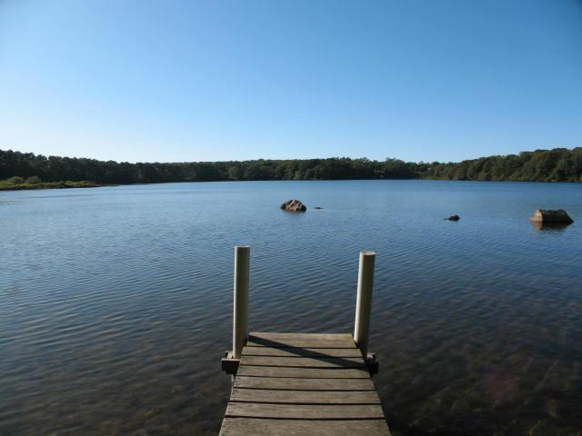 Dock - Waterviews of Lower Mill Pond with private dock - BR0126 - Brewster - rentals