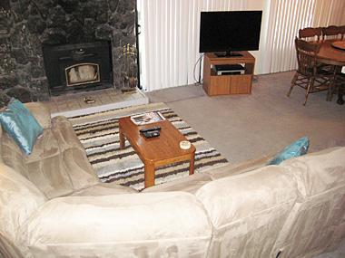 Living Room - Sherwin Villas - SV05A - Mammoth Lakes - rentals