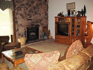 Living Room - Snowcreek - SC229 - Mammoth Lakes - rentals