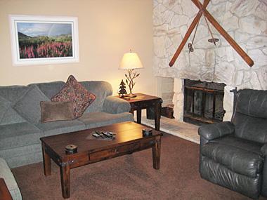 Living Room - Snowcreek - SC044 - Mammoth Lakes - rentals