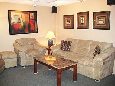 Living Room - Fireside at the Village - MF106 - Mammoth Lakes - rentals