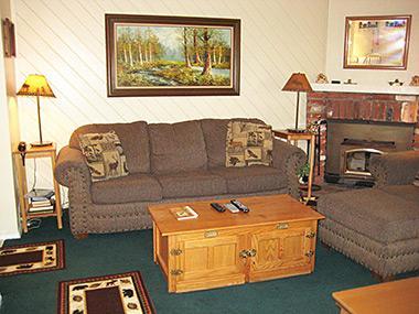 Living Room - La Vista Blanc - LVB69 - Mammoth Lakes - rentals