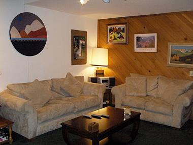 Living Room - La Vista Blanc - LVB26 - Mammoth Lakes - rentals