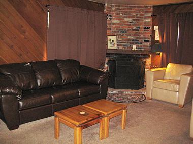 Living Room - La Vista Blanc - LVB19 - Mammoth Lakes - rentals