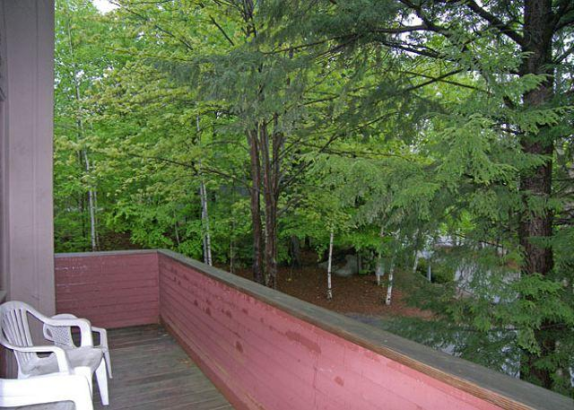 Deck - Village of Loon 20E- Managed by Loon Reservation Service - Lincoln - rentals