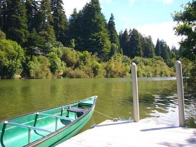 Casa Luna, Canoe, boating on the river - Casa Luna - Riverfront Cabin, Spa, River Access - Guerneville - rentals