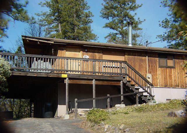 Exterior - 3 Bedroom, 2 Bath Cabin, Sleeps 8 - between E. Sonora and Twain Harte. - Sonora - rentals