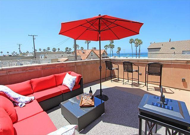 Newport Beach Tuscan Style Family Home! 1 House from Beach w/ Views! (68244) - Image 1 - Newport Beach - rentals
